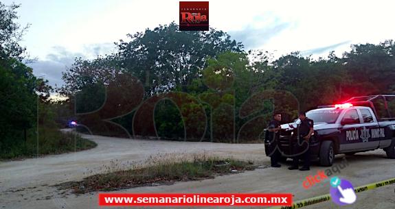 Encuentran 3 'embolsados' en la maleza aledaña al Arco Vial de Playa del Carmen