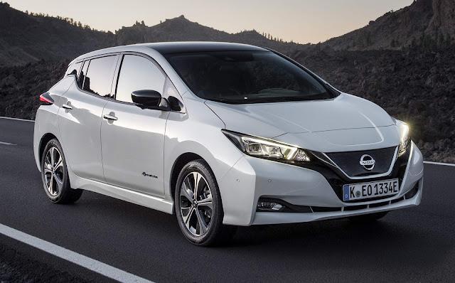 Nissan Leaf - test drive em SP