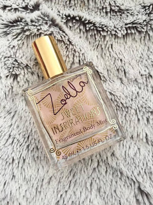 Zoella beauty Sweet Inspirations mist