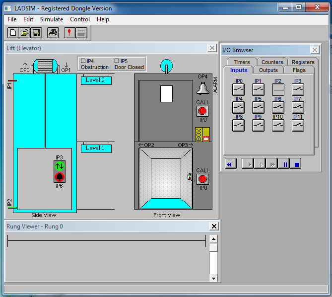 Ladsim Ladder Logic Simulator Engineering Information