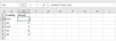 Cara Menggunakan Rumus IF di Excel dan contohnya
