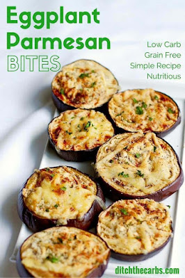 The BEST Low-Carb and Gluten-Free Eggplant Recipes found on KalynsKitchen.com