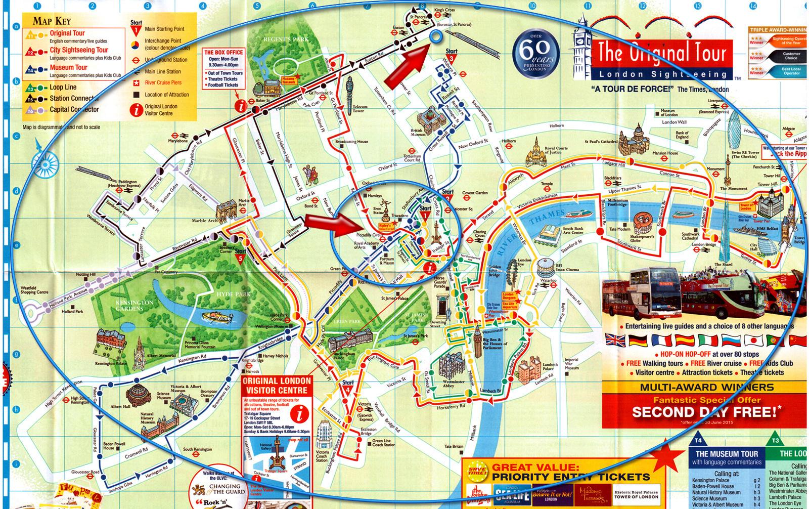 mapa de atrações de londres Hospedar Bem em Londres sem Gastar Muito mapa de atrações de londres