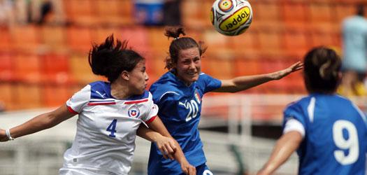 Italia y Chile en Torneio Internacional Cidade de São Paulo 2011, 18 de diciembre