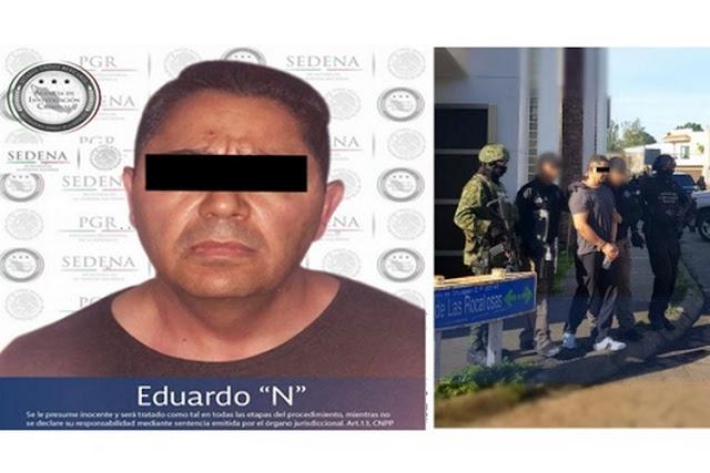 """Cae """"El Tablas"""", uno de los 10 más buscados por FBI, integrante de brazo del Cártel de Juarez"""