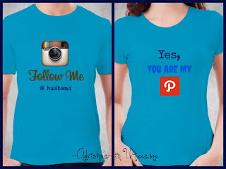Social Media Kaos Couple Tshirt