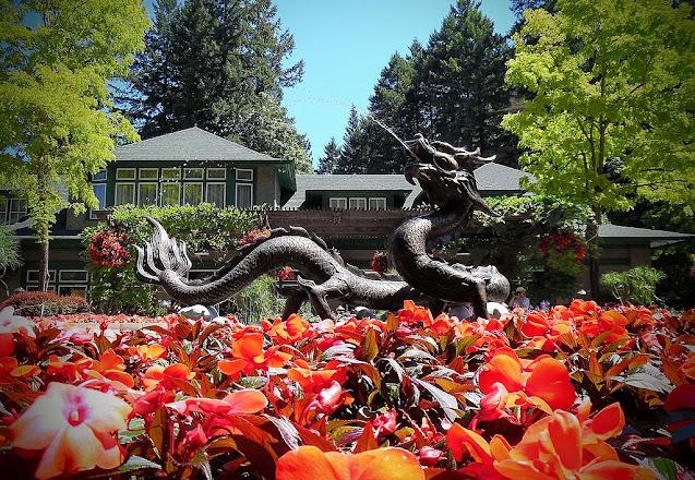 Fuente del Dragón Butchart Garden
