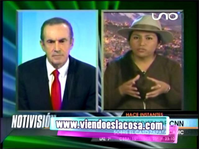 MINISTRA PACO DISCUTE CON ANDRÉS OPPENHEIMER SOBRE CASO ZAPATA/CAMC