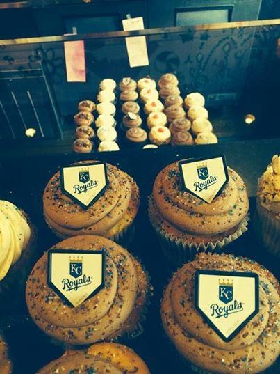 Kc Royals Cupcakes