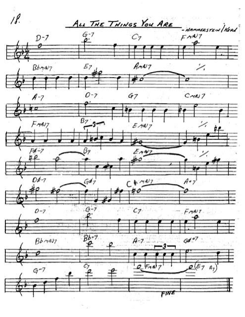 Partitura Saxofón Hammerstein Kern