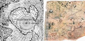 Massive Swastika Found Under Ancient Lake in Antarctica Maps