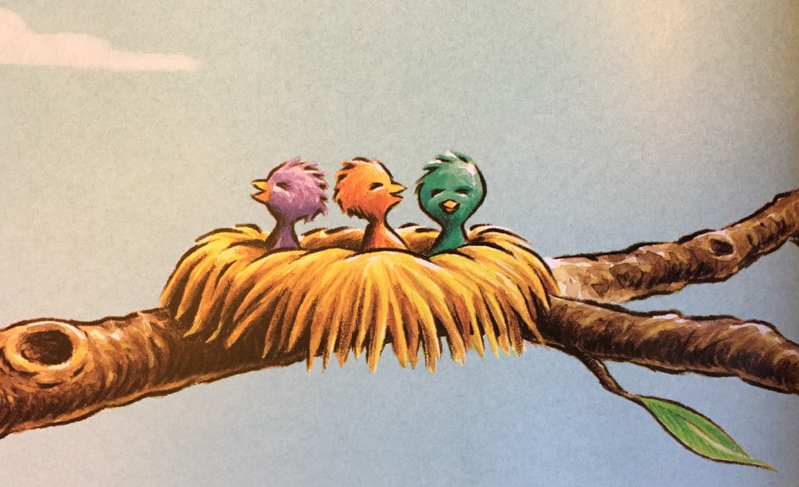 Picture Book Theology: Singing Praise is for the Birds
