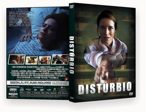 DISTURBIO DVD-R – ISO – CAPA DVD