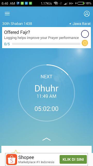 Athan Ramadan Prayer Times APK - Waktu Sholat