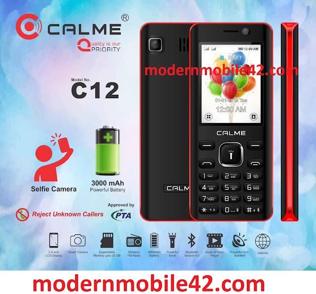 calme c12 flash file