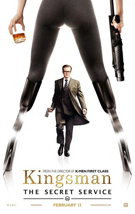 Kingsman The Secret Service Poster: Colin Firth