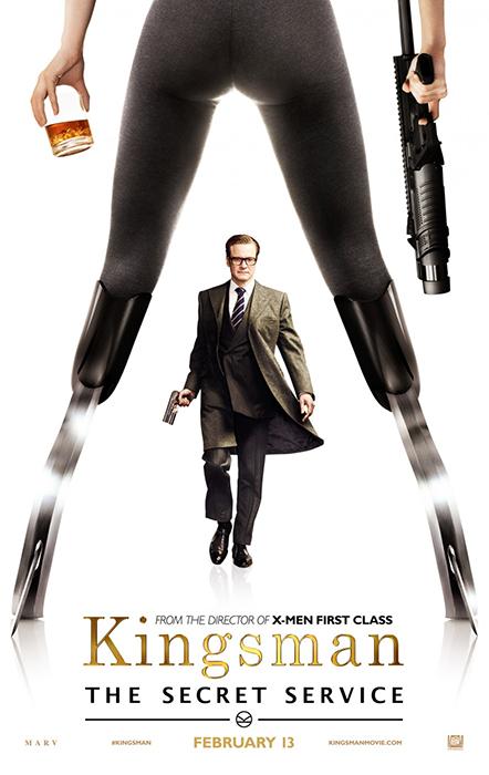 Kingsman The Secret Service Poster: Colin Firth