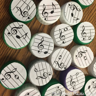Learning the names of the treble clef lines and spaces is a basic music skill.  Using workstations to practice it only makes sense. See ideas for using centers in your music classroom  to teach pitch names of notes on the treble clef staff.