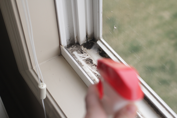 Spring Cleaning: Cleaning Window Tracks #SpringClean16