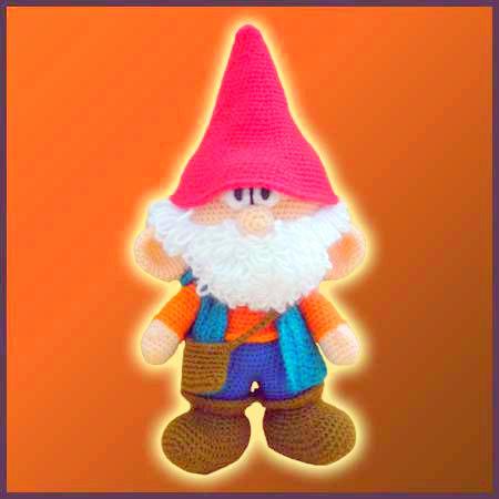 amigurumi Garden gnome Crochet pattern