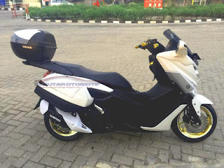 yamaha nmax modifikasi touring