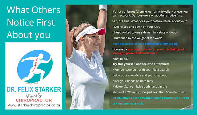 What others notice about you first - Dr Felix Starker - http://starkerchiropractor.co.za/