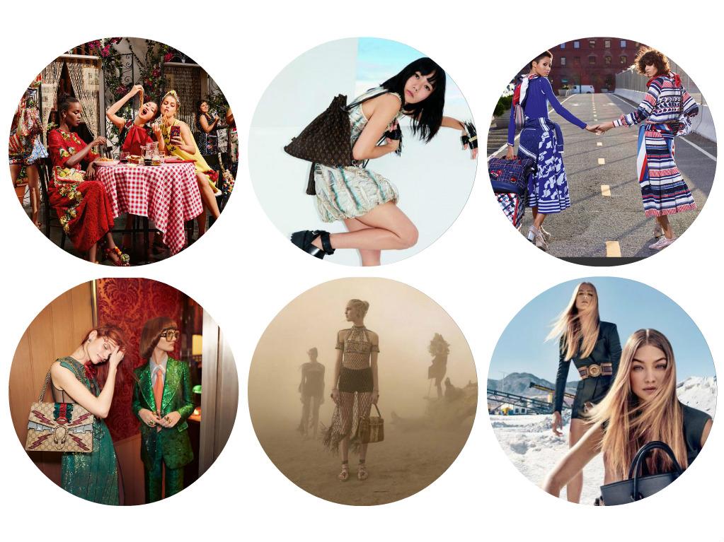 Campagne printemps-été Gucci Chanel Valentino Chloé Balmain