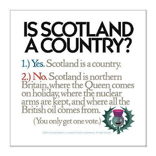 Is Scotland a country? #ScotRef #TheYESMovement