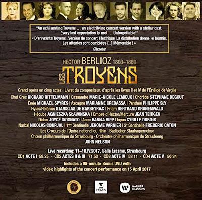 Berlioz - Les Troyens - Erato