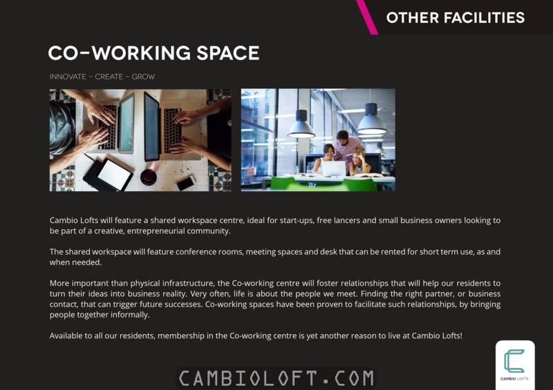 Cambio Lofts Alam Sutera Co-Working Space