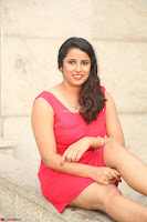 Shravya Reddy in Short Tight Red Dress Spicy Pics ~  Exclusive Pics 086.JPG