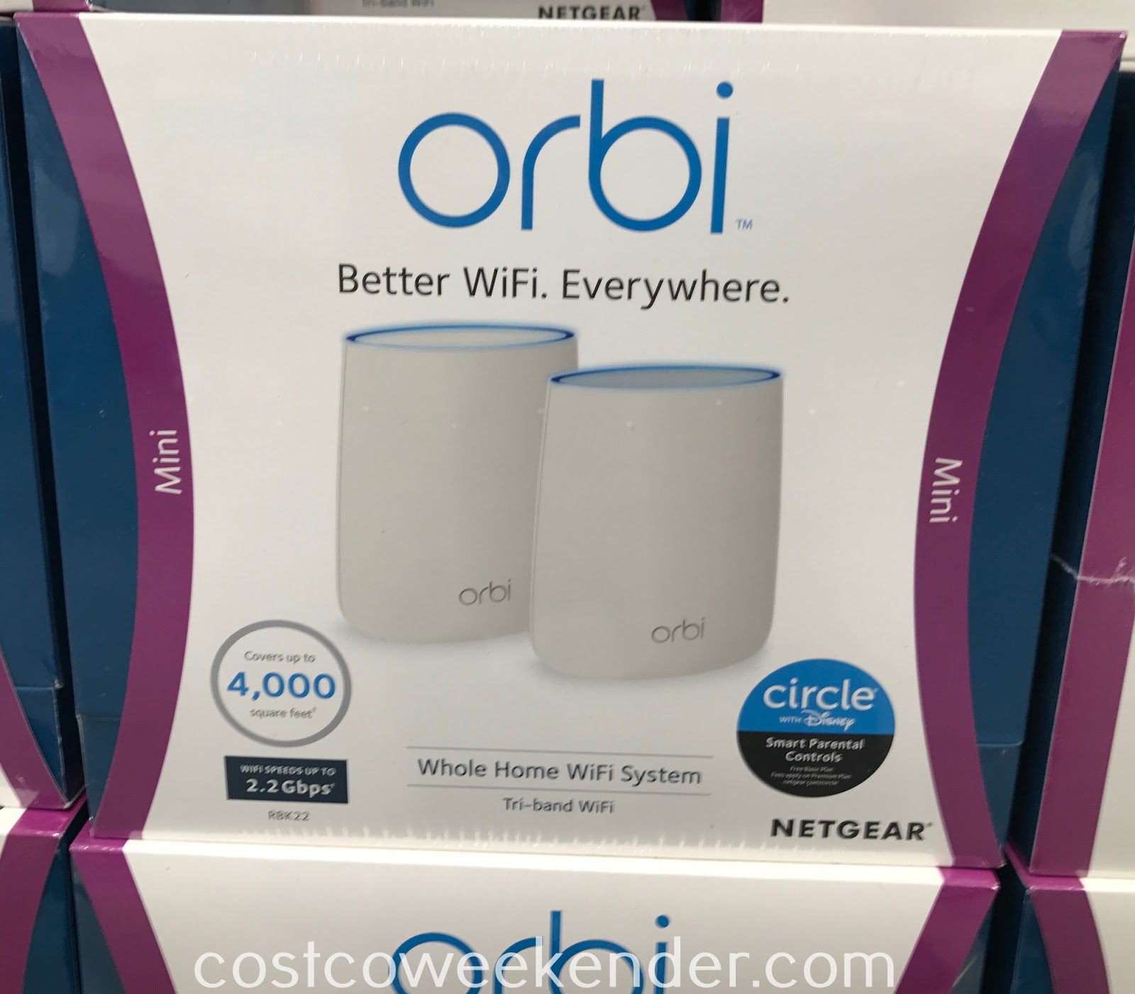 Costco 1218354 - Get a faster network speeds with the Netgear Orbi Home Wifi system