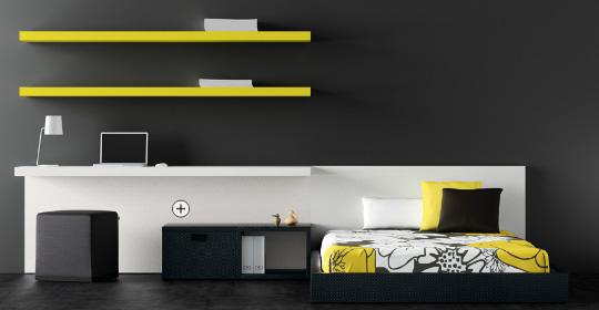 Dormitorios minimalistas juveniles via for Recamaras para jovenes minimalistas