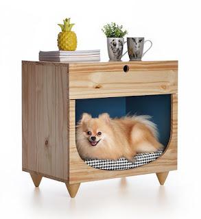 criacriado - criado mudo casinha de cachorro. Blog Achados de Decoração