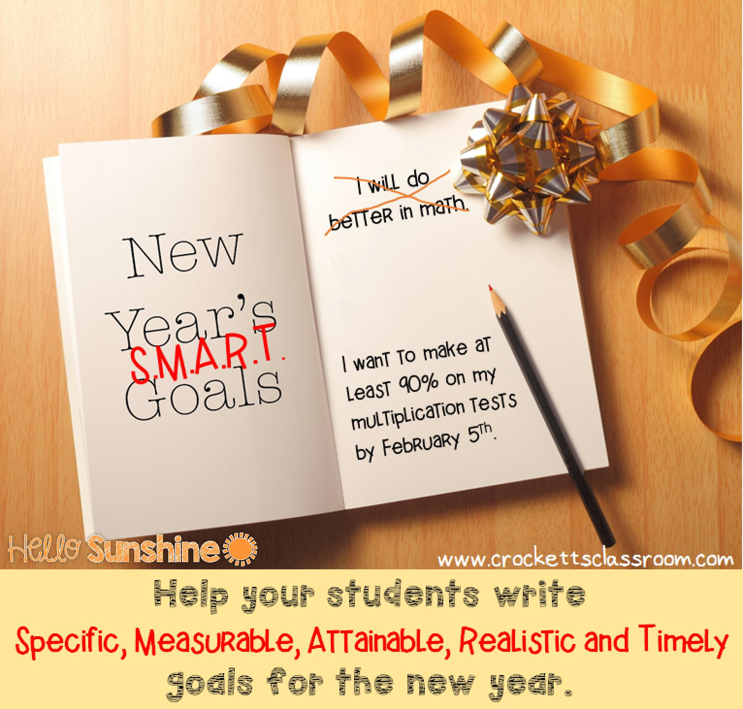 Hello Sunshine Smart Goal Setting For The New Year