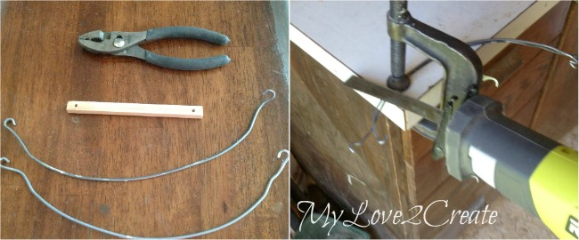 MyLove2Create Salvage Style, cutting wire