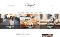 Download Premium Theme Beautytemplates Angel Blogger Blogspot Template