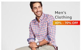 men's clothing 40%-70% off