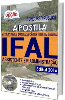 Apostila IFAL 2016