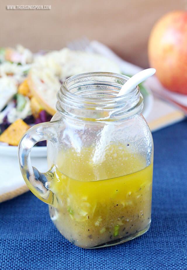 Thanksgiving Recipe: Apple Cider Vinaigrette Dressing