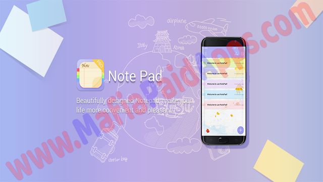 NotepadSticky Notes&Memo Pro v1.6 Apk for Android