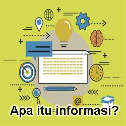 Pengertian Informasi dan Contohnya