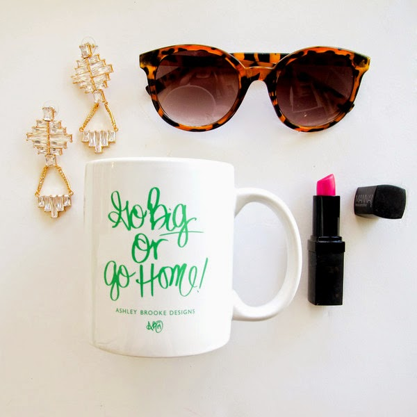 White Background of Ashley Brooke Designs Mug + Accessories