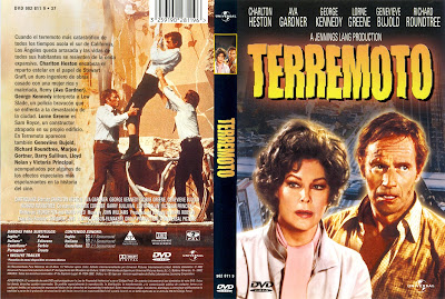 Cine clásico, cover, caratula, dvd: Terremoto | 1974 | Earthquake