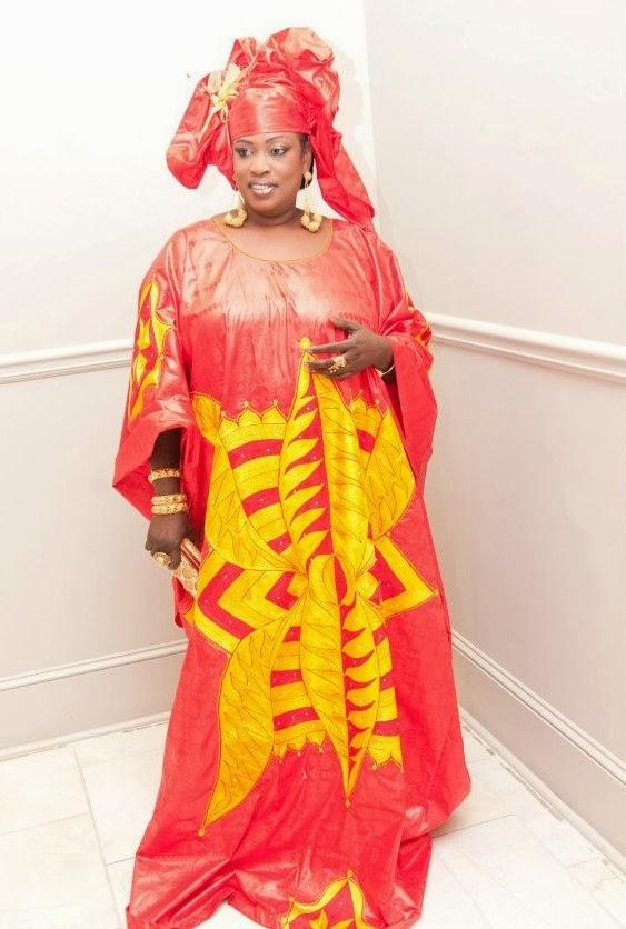 Senegalese Boubou Design Dezango