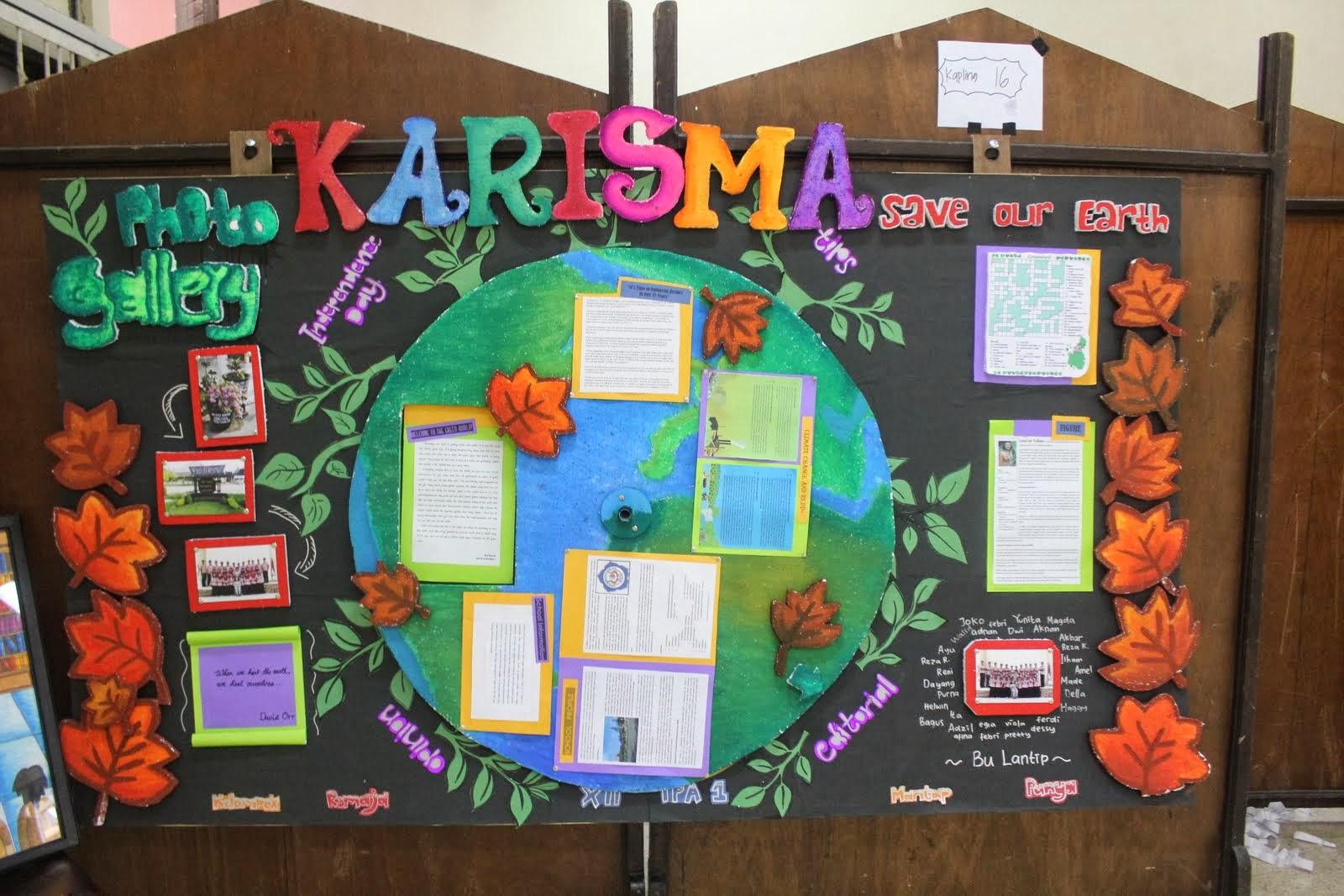 Contoh Cara Membuat Mading di Sekolah  Contoh Surat Untuk