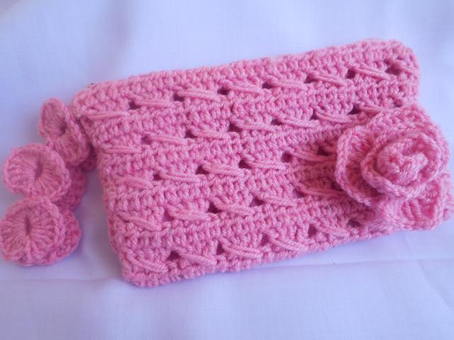 ee6a0805411 Crochet - Crosia Free Patttern with Video Tutorials  Crochet Pouch ...