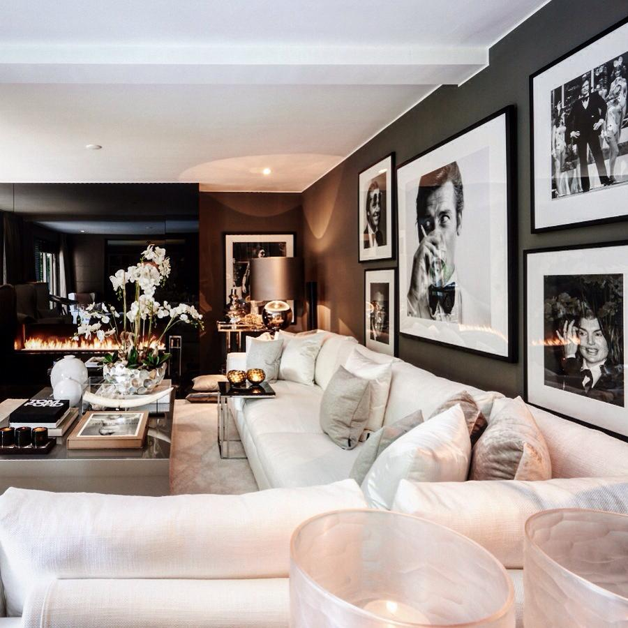 Luxury Homes Interior Decoration Living Room Designs Ideas: ByElisabethNL: Metropolitan Luxury: Interior Design By