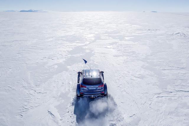 Hyundai Santa Fé - Antártida