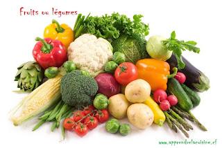 Fruits ou légumes